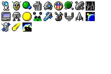 Free Iconset: Space Bits Icons by Etherbrian