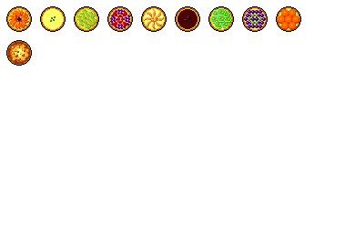Free Iconset: Fruits Tart Icons by Meramera