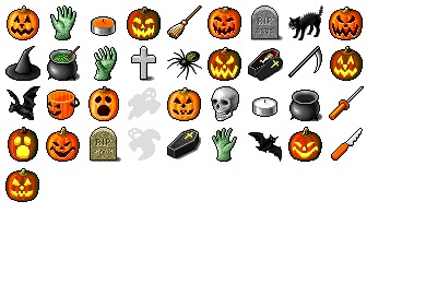 Free Iconset: Hide's Halloween Icons by Pixture