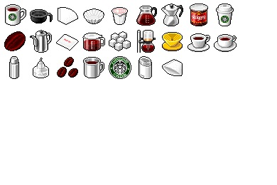 Free Iconset: Hide's Coffee Icons by Pixture