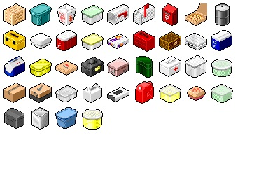 Free Iconset: Hide's Box Container Icons by Pixture