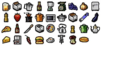 Free Iconset: Kitchen Icons by Mozco