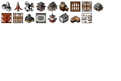 Free Iconset: Japanic Historic Buildings 2 Icons by IronDevil