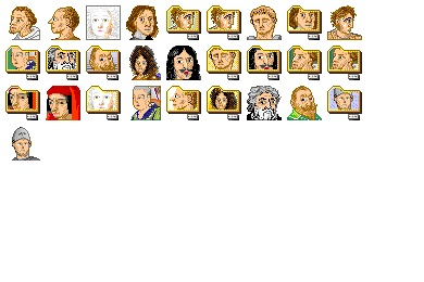 Free Iconset: Great Men And Women 2 Icons by Iconmuseo