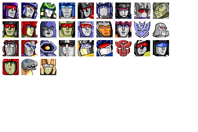 Free Iconset: The Transformers Icons by Iconfactory