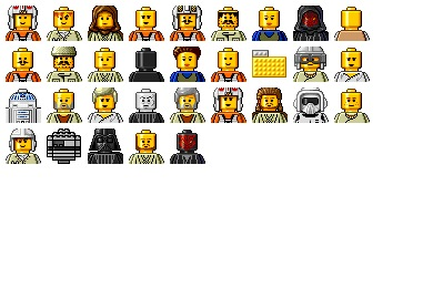 Free Iconset: Star Wars Lego Icons by Iconfactory