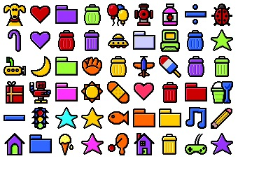 Free Iconset: Kidcons Icons by Iconfactory