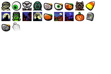 Free Icons: Iconset: Halloween 99 Icons by Iconfactory | Halloween