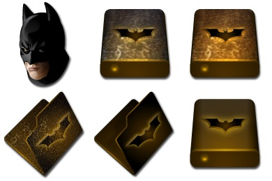 Iconset: Batman Begins Icons by Fast Icon Design