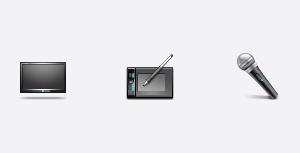Free Icons: Media Set | HADezign