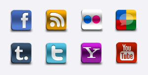 Free Social Networks Pro Icons