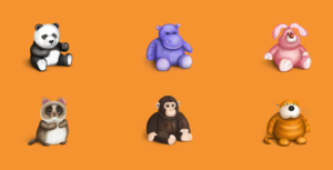 Free Icons: Plush Icons | Iconsmaster