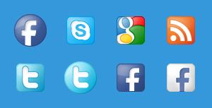 Free YOOicons Social Bookmarks