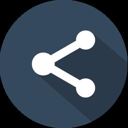 Download Vector Share 2 Icon Vectorpicker