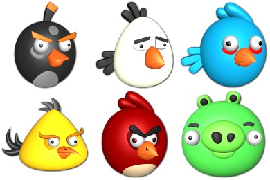 Free Iconset: Angry Birds Icons by Sirea