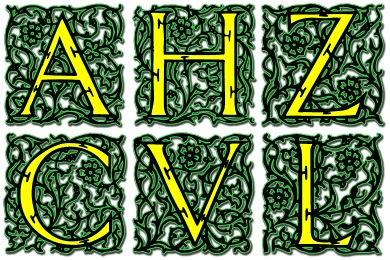 Free Iconset: Arabesque Alphabet Icons by Icon Archive