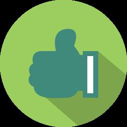 Download Vector - Thumbs up Icon - Vectorpicker