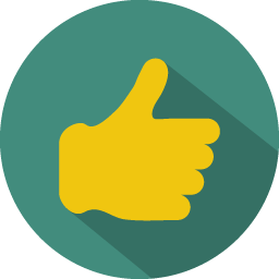 Download Vector Thumb Up Icon Vectorpicker
