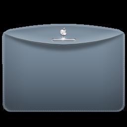 Folder Color Grey Blue Icon