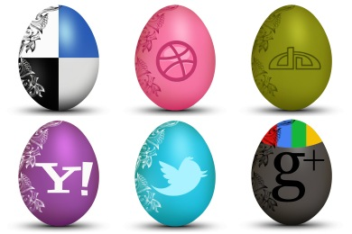 Free Iconset: Egg Social Icons by Land-of-Web