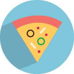 Download Vector Pizza Icon Vectorpicker