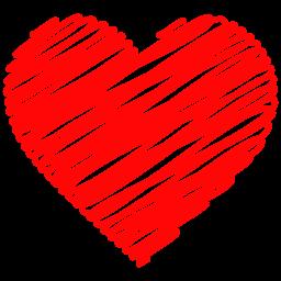Download Vector Red Doodle Heart Background Vectorpicker