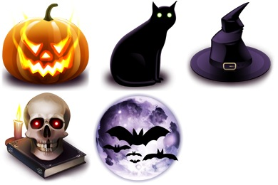 Free Iconset: Halloween Icons by Yellow Icon Design