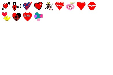 Download Vector - Iconset: Hearts A Flutter Icons by IconDigest