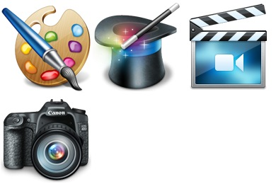 Free Iconset: Hobbies Icons by HADezign