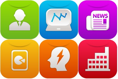 Free Iconset: iOS7 Business Icons by GraphicLoads