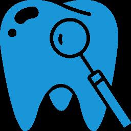 Download Vector Tooth Blue Icon Vectorpicker