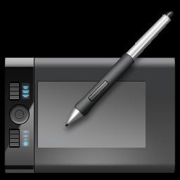 Download Vector Wacom Tablet Icon Vectorpicker