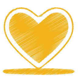 Download Vector Yellow Heart With Be My Valentine Message Vectorpicker