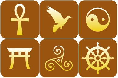 Free Iconset: Religious Symbol Icons by DesignBolts