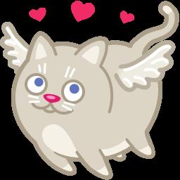Download Vector Cat Cupid Love Icon Vectorpicker