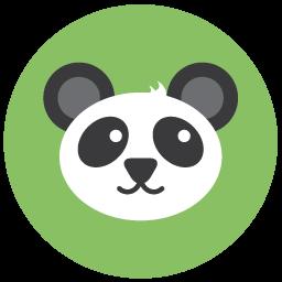 Download Vector Seo Panda Icon Vectorpicker