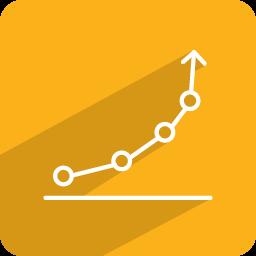 Download Vector Growth Statistics Icon Vectorpicker