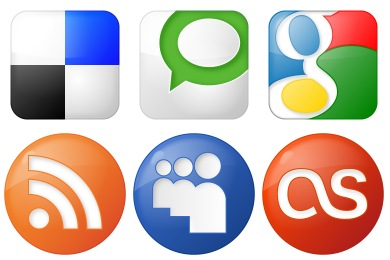 Free Iconset: Social Bookmark Icons by YOOtheme