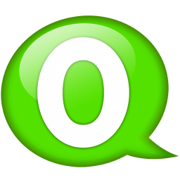 Download Vector Speech Balloon Green O Icon Vectorpicker