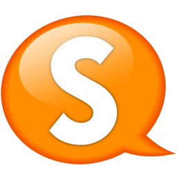 Download Vector Speech Balloon Orange A Icon Vectorpicker