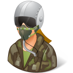 Download Vector Occupations Pilot Military Male Light Icon Vectorpicker