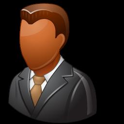 Download Vector Office Client Male Dark Icon Vectorpicker