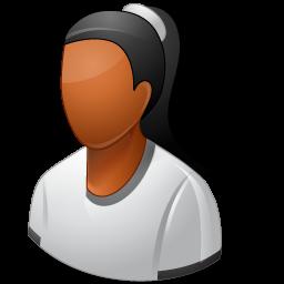 female business person icon