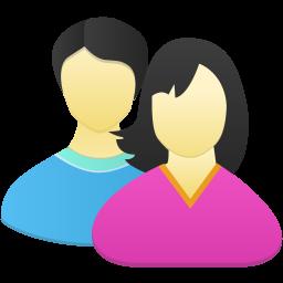 Download Vector Couple Icon Vectorpicker