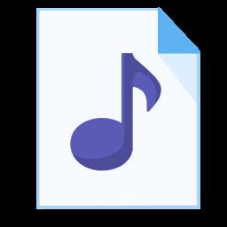 ModernXP 24 Filetype mp 3 Icon