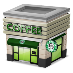 Shop Coffee cream Icon