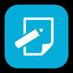 Download Vector Metroui Apps Notepad Icon Vectorpicker