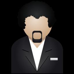 Download Vector Black Man Icon Vectorpicker