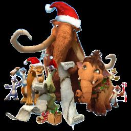 Free Icons: Ice Age Christmas Icon | Mascots | Majdi Khawaja