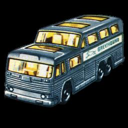 Download Vector Greyhound Bus Icon Vectorpicker